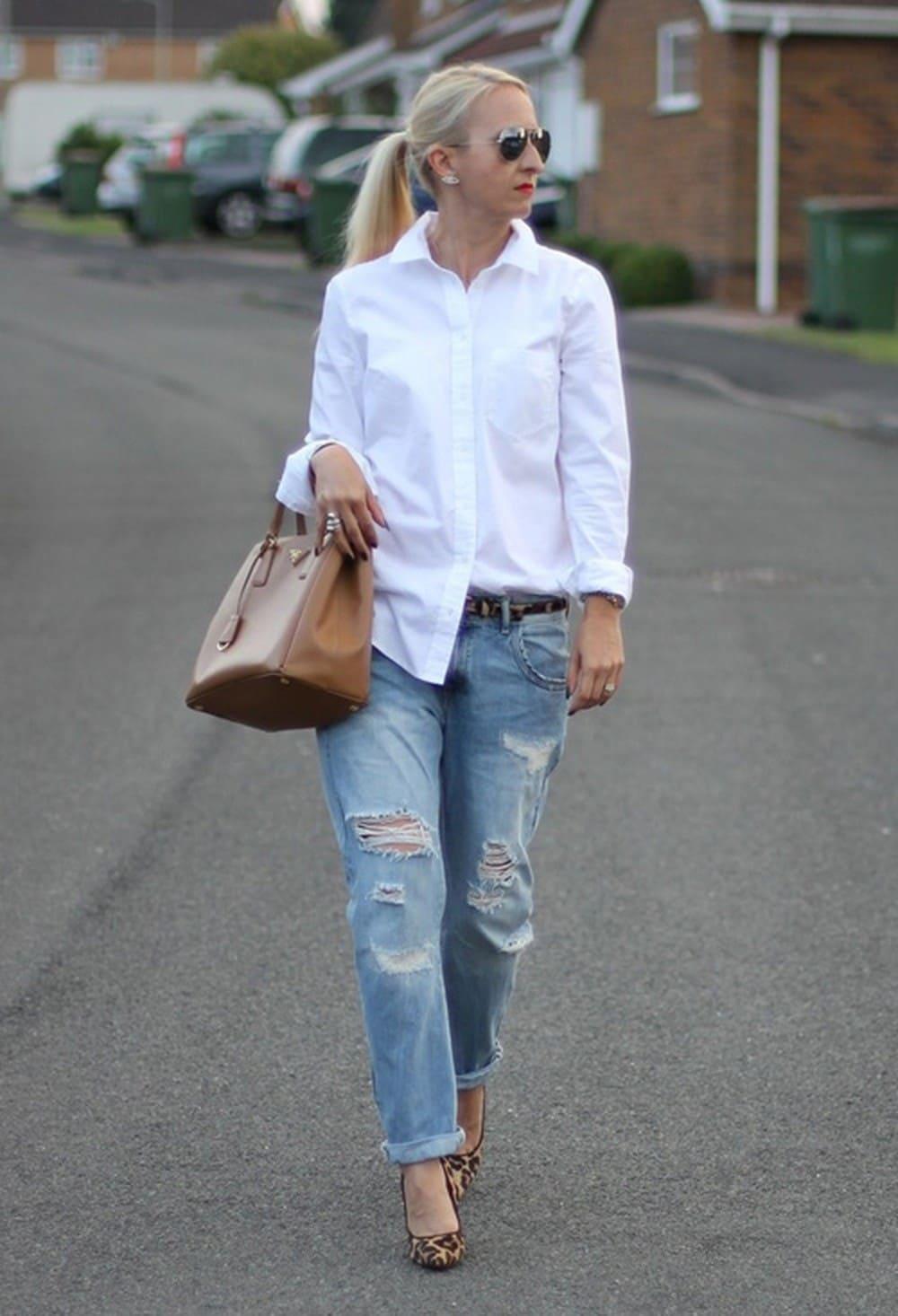 Semi Formal Dresses - Shirt Look
