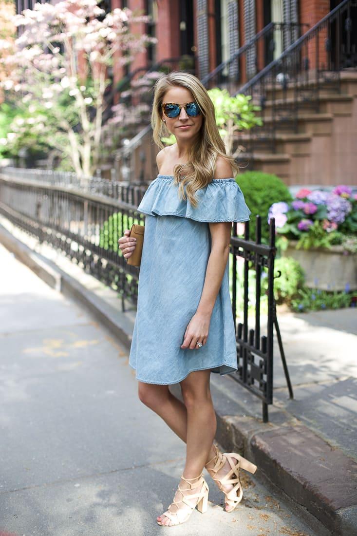 Off- Shoulder Single Semi Formal Dress for Women