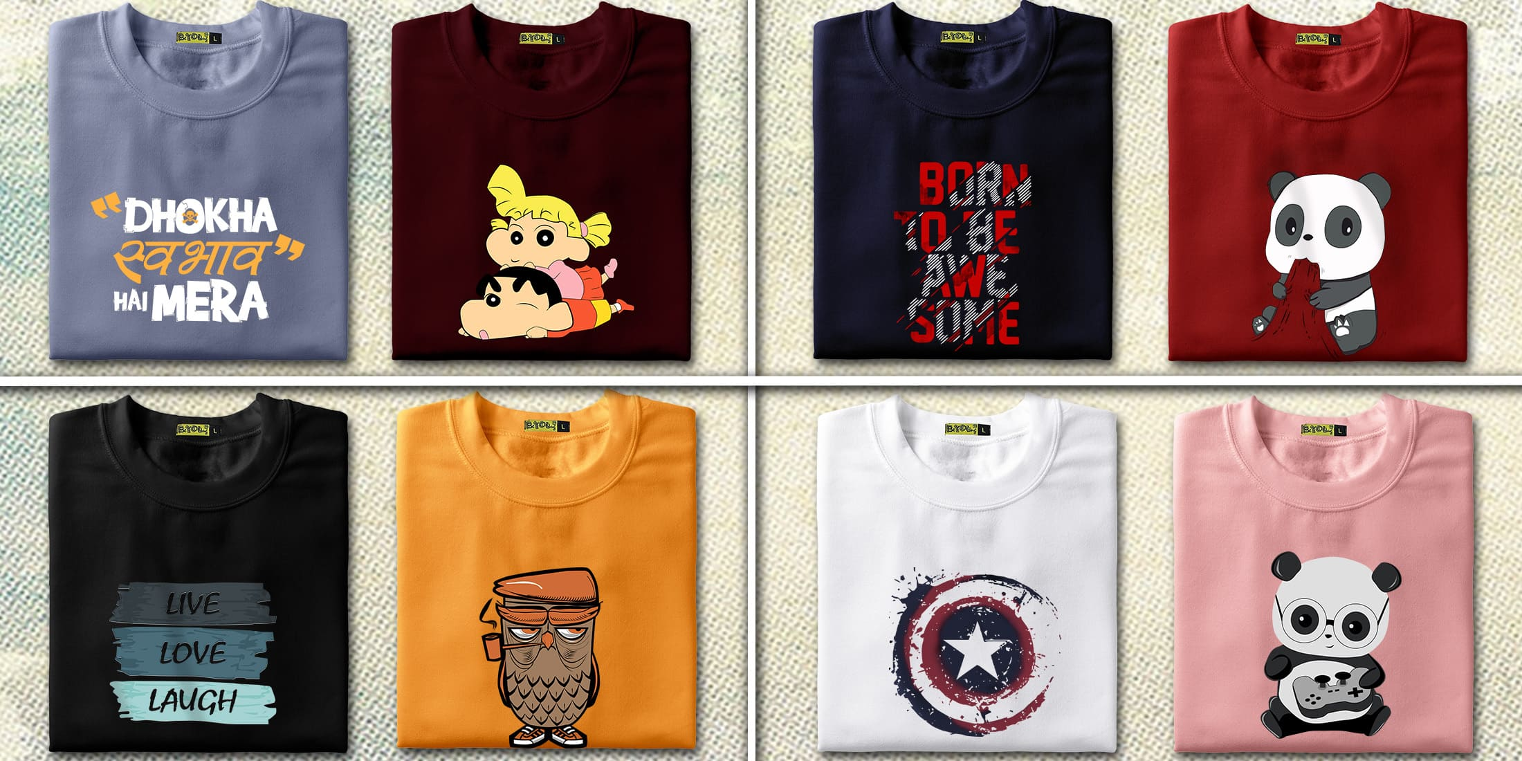 b58faf9fc8d Whenever it comes to bring an iconic change in the t-shirt styling then  theme based designs comes as a savior. Enrich cool t-shirts based on a  particular ...