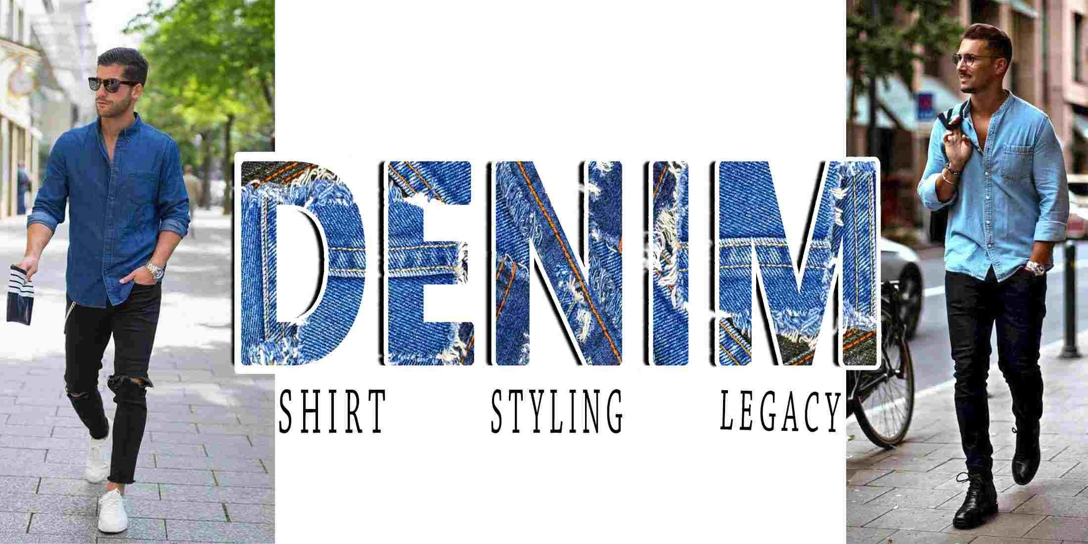 How to Wear Denim Shirt in 2020