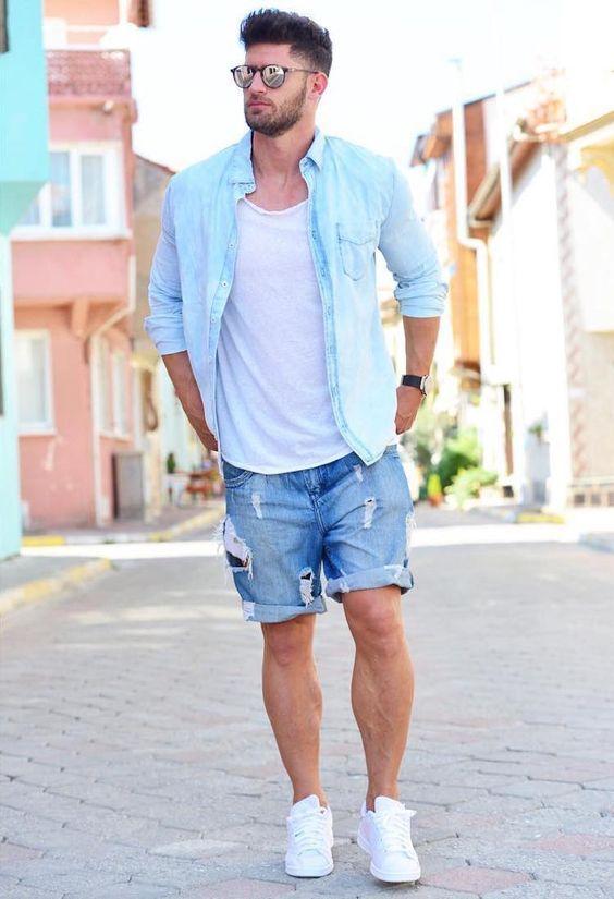 How to Wear Denim Shirt - Denim Shirt Style