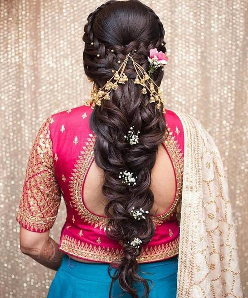 Wedding Hairstyles for Girls 2020 - Dulhan Hairstyle - Beyoung Blog