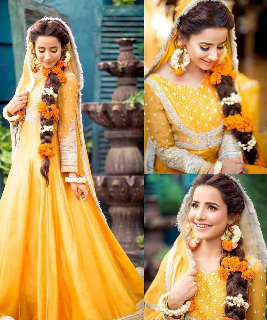 Haldi Ceremony Dresses for Bride 2020 - Haldi Outfits