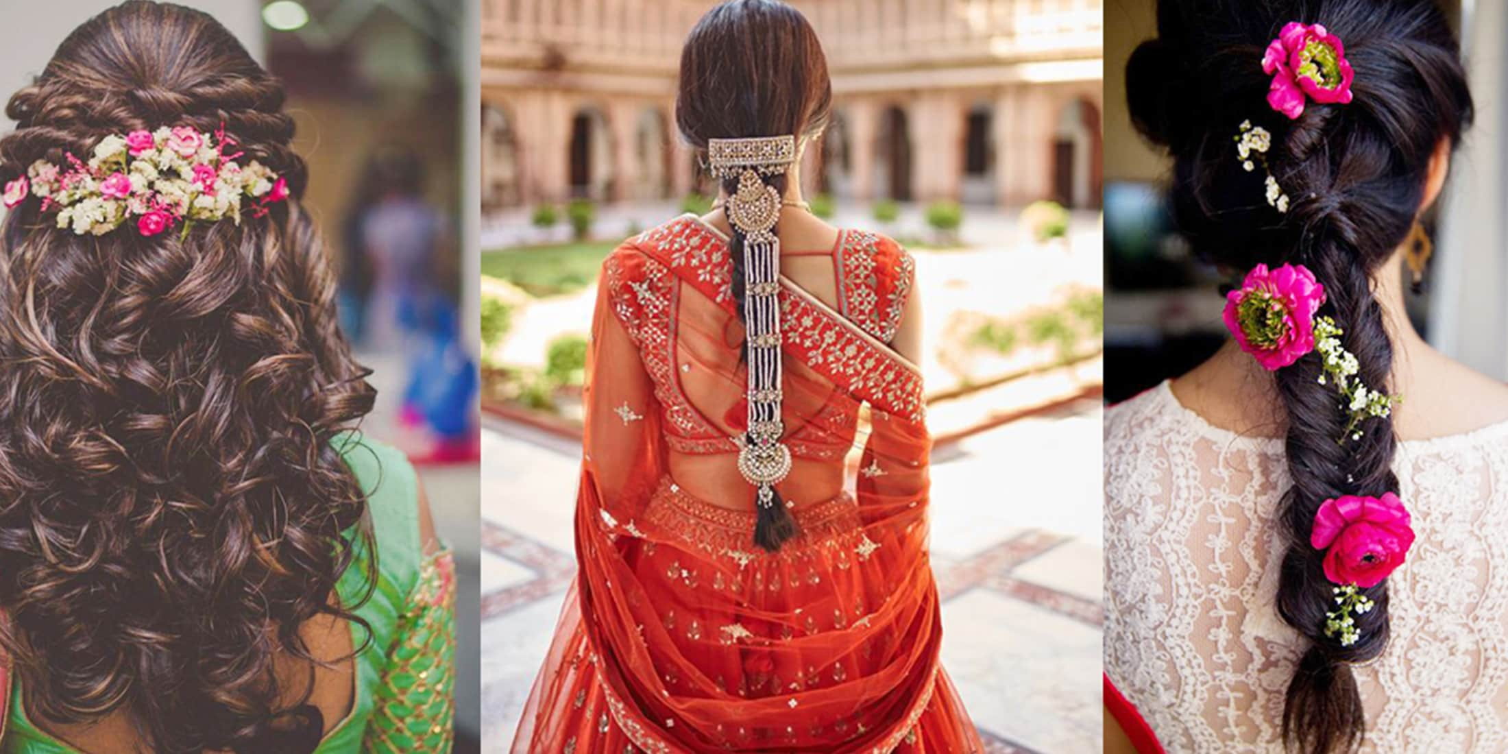 15 best indian bridal hairstyles for wedding season
