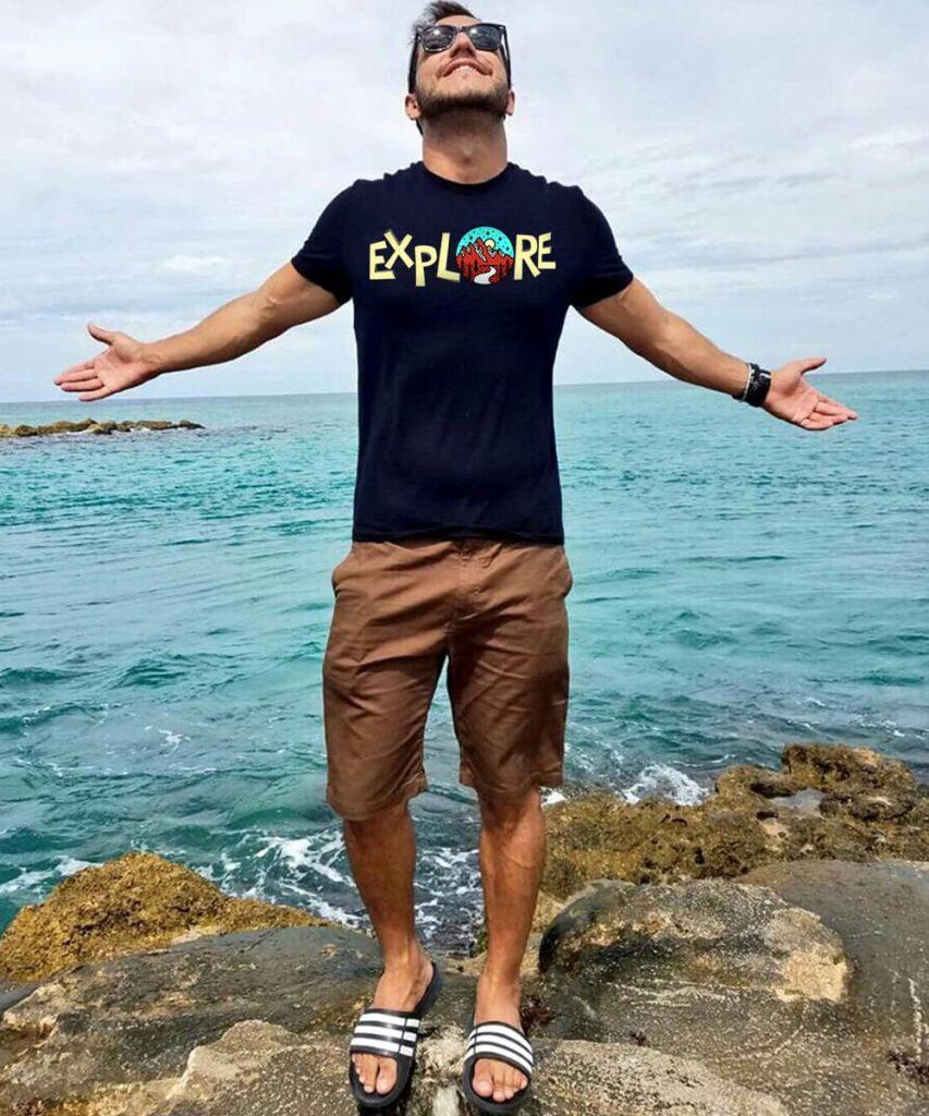t shirt and shorts - Beyoung Blog