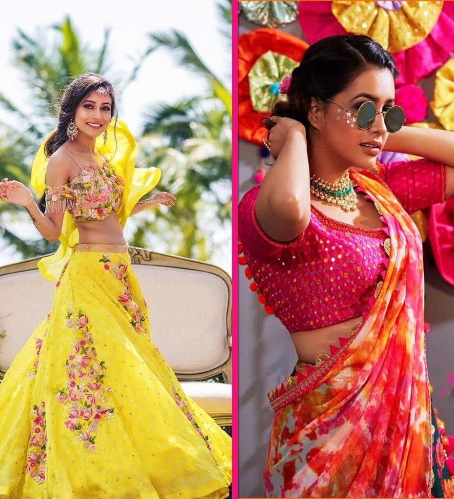 Haldi Ceremony Dresses for Brides 2020 - Haldi Look