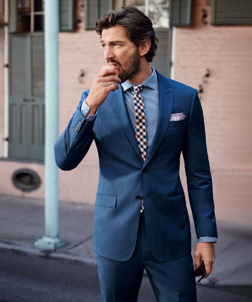 Pants with Blue Blazer Combination 2021