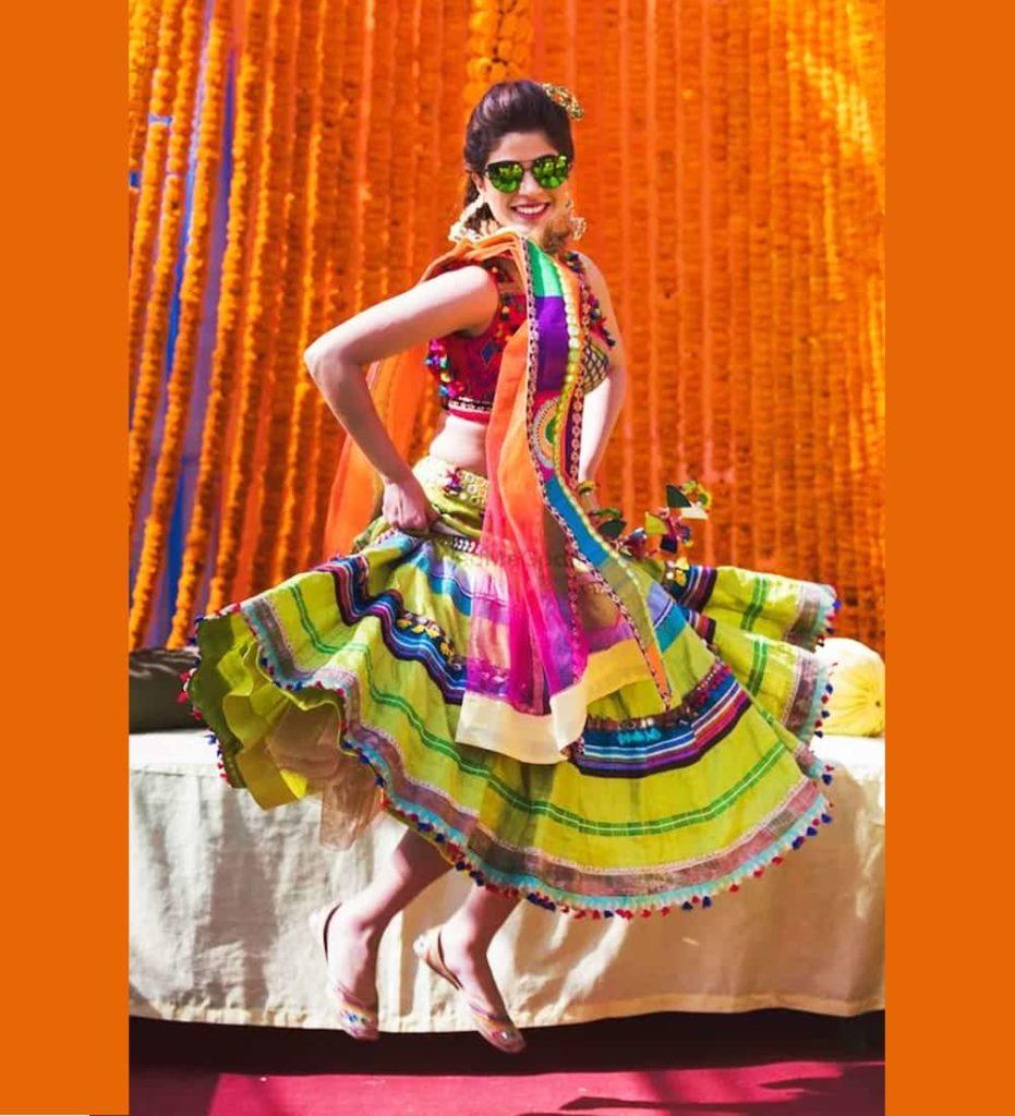 Haldi Dresses For Brides 2020 - Haldi Look
