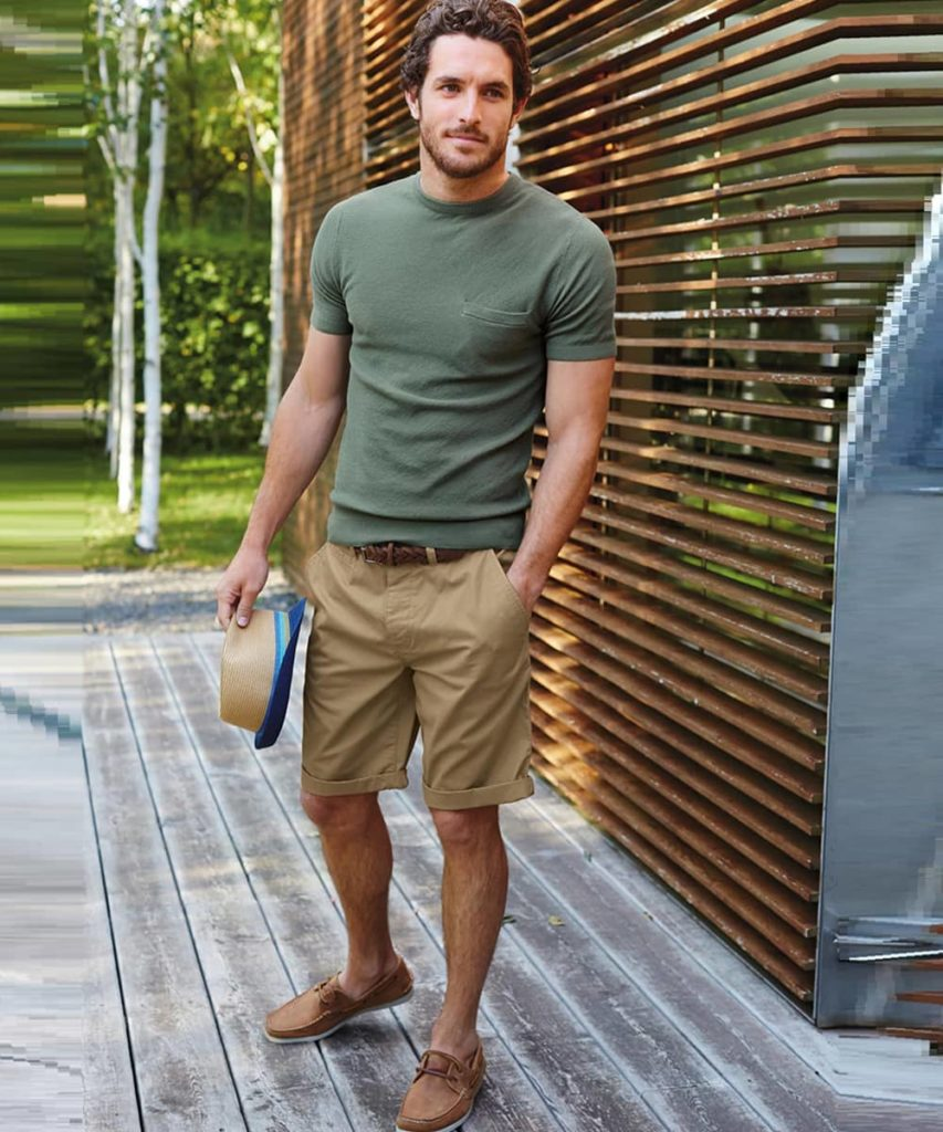 Mens Beige Shorts Outfit - Beyoung Blog