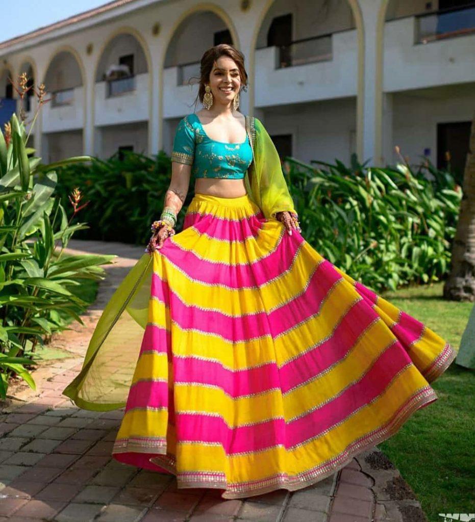 Haldi Function Dresses 2020 - Haldi Outfit