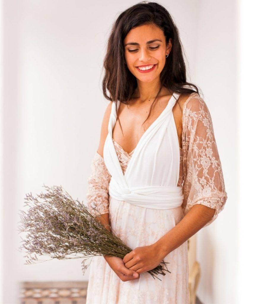 one piece dress with shrug - Beyoung Blog