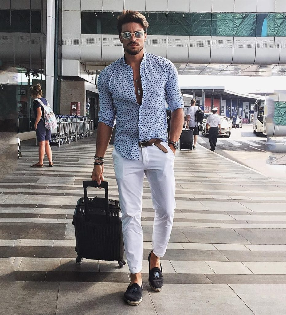 Formal Shirt and Pant Combination
