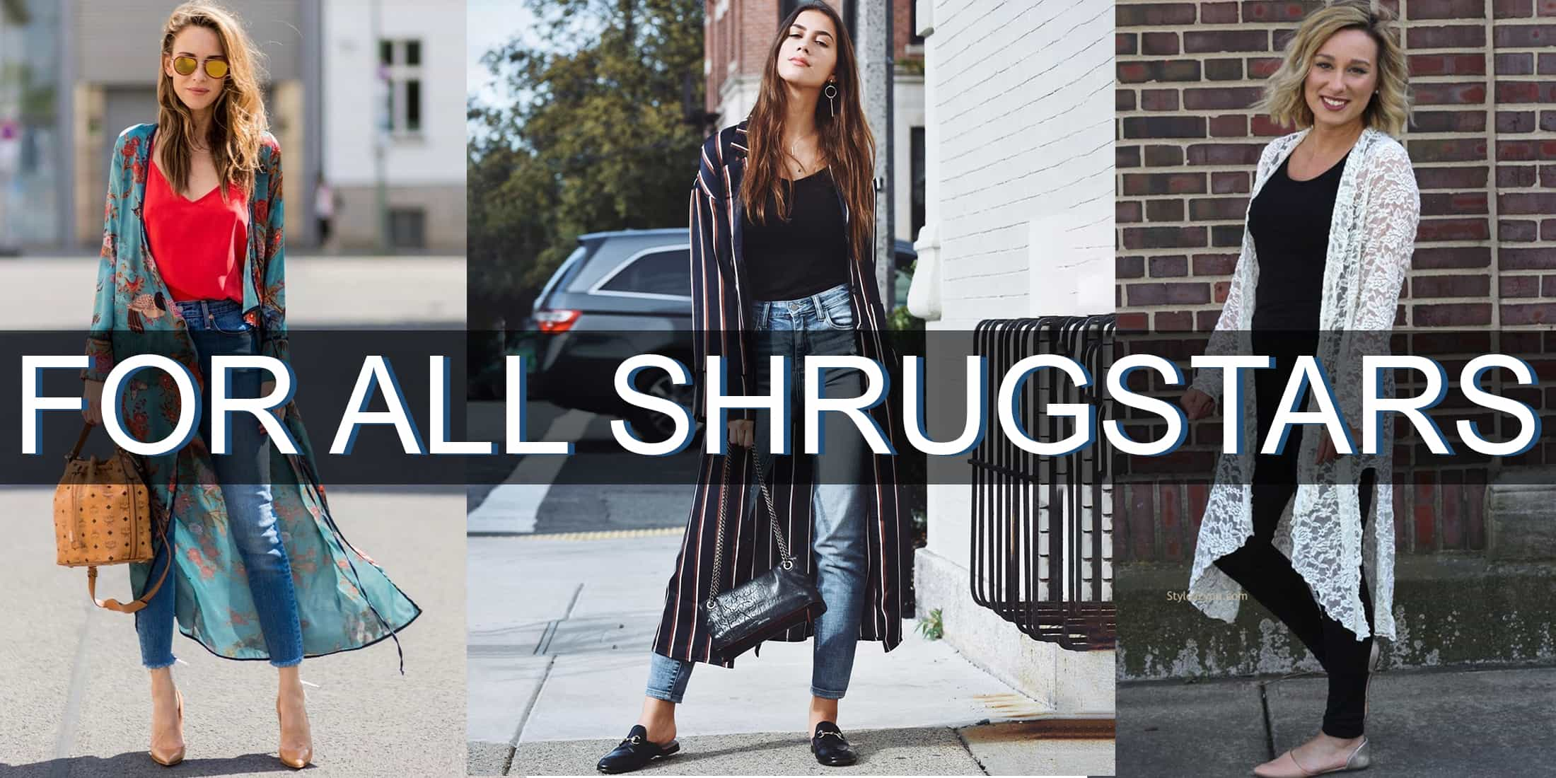 different types of shrugs