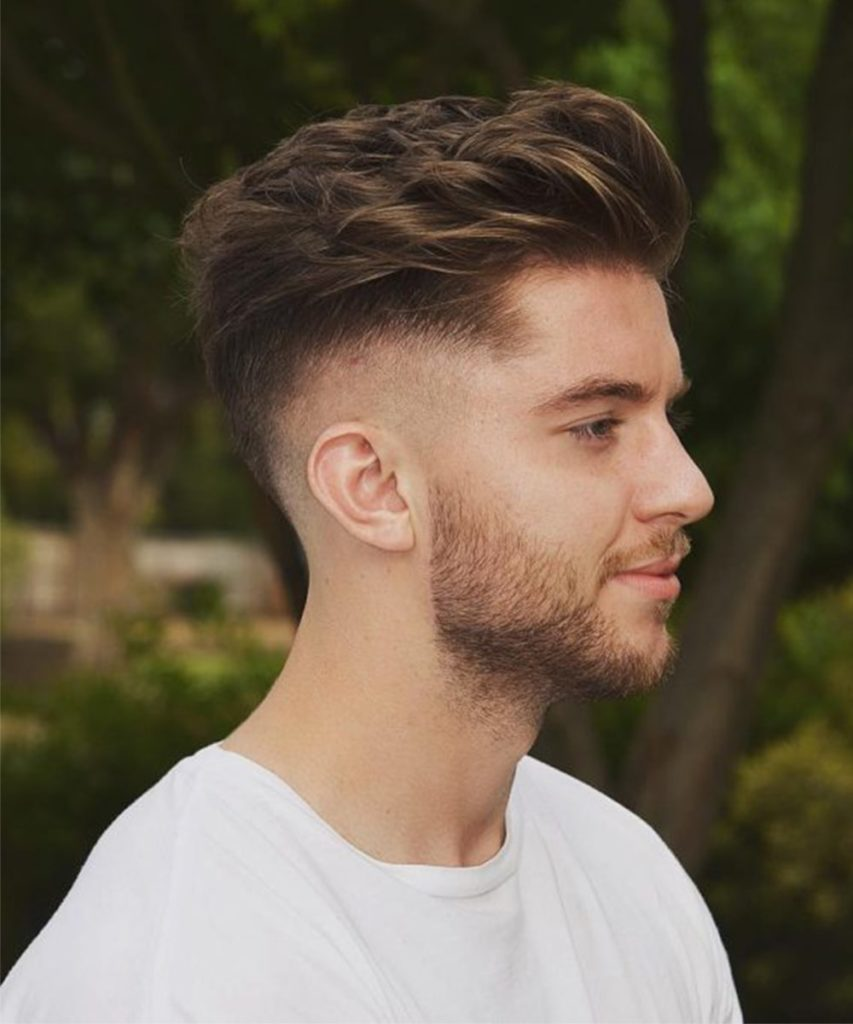 Disconnected Quiff New Hair Cutting Style