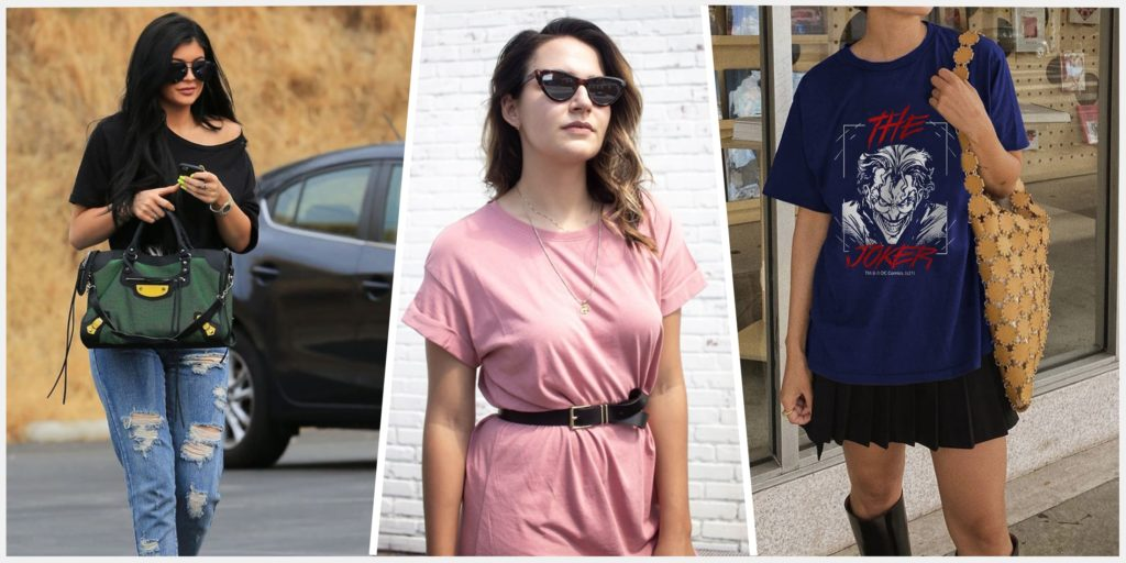 How To Style Oversized T Shirts