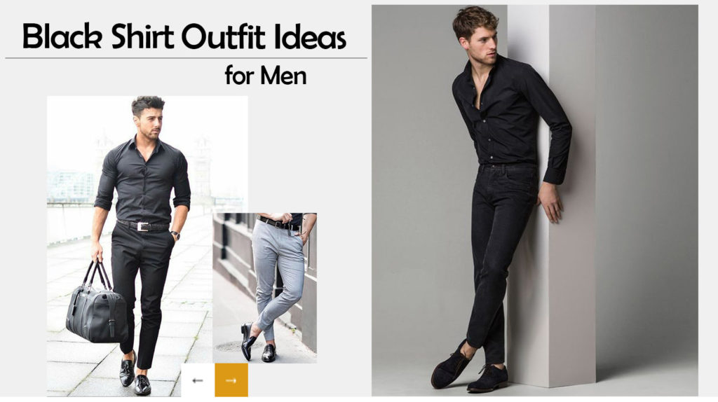 Black Shirt Pant Combination - Black pant shirt outfit